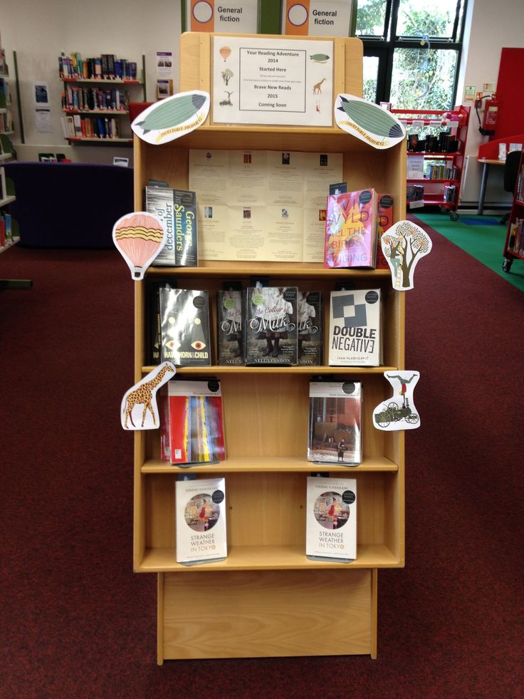We Started Reading Adventures in 2014 with 8 books. If you didn't get a chance to read them we currently have a display in Haverhill Library with the chance to read them again. Watch out for Brave New Reads coming soon!
