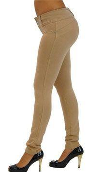 Voel je mooi en gewenst met de Shaping Butt Lift legging. De legging accentueert je rondingen rond de billen, taille en dijen. #kadehandel #trendyleggingsfashion #leggings #corrigerende #kaki