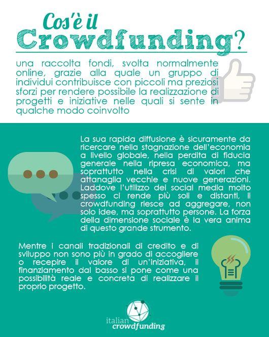E tu sai cos'è il #Crowdfunding?