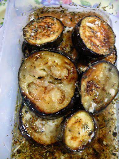 ile recetas: Berenjenas grilladas en escabeche