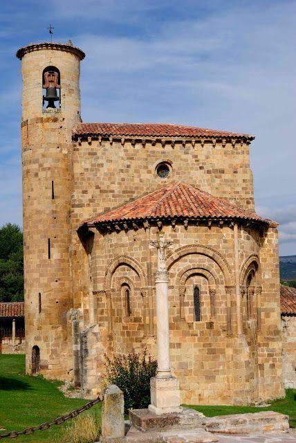 Colegiata de San Martin, San Martín de Elines, Cantabria