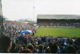 Leeds Road, former home of Huddersfield Town