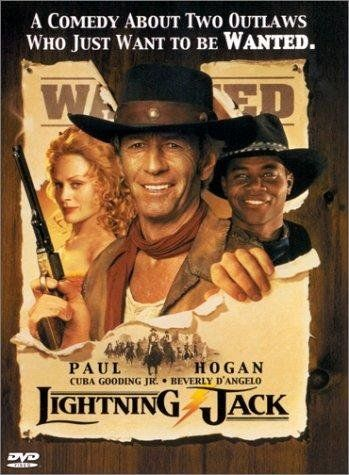 Beverly D'Angelo, Cuba Gooding Jr. and Paul Hogan in Lightning Jack (1994)