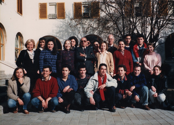 1996 fotograf a del primer equipo de profesores del - Carmen pardo valcarce ...
