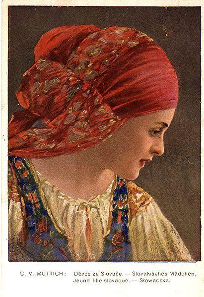 c. v. muttich, slovak girl