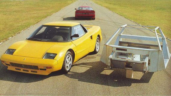 What's Up With Ferrari's Forgotten All-Wheel-Drive Supercar? • Petrolicious