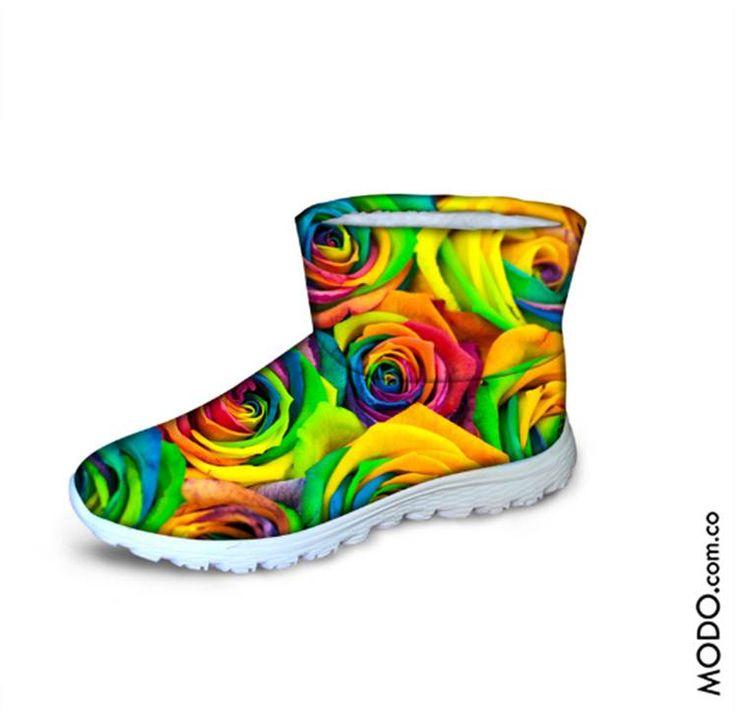 Botines impermeables y térmicos, de colores :: $185.000  Te esperamos en Bogotá, en el CC Hacienda Santa Bárbara D302 (Diagonal al Cine).  #ModoNewYorK #winterboots #botasdeinvierno #botasparanieve #Botasdelluvia #botasimpermeables #botasconpeluche #botas #boots #botines #botasimportadas #Bogotá