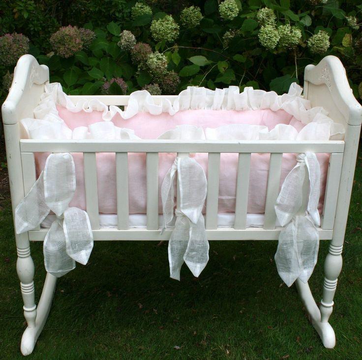 Lulla Smith Monaco Cradle Bedding