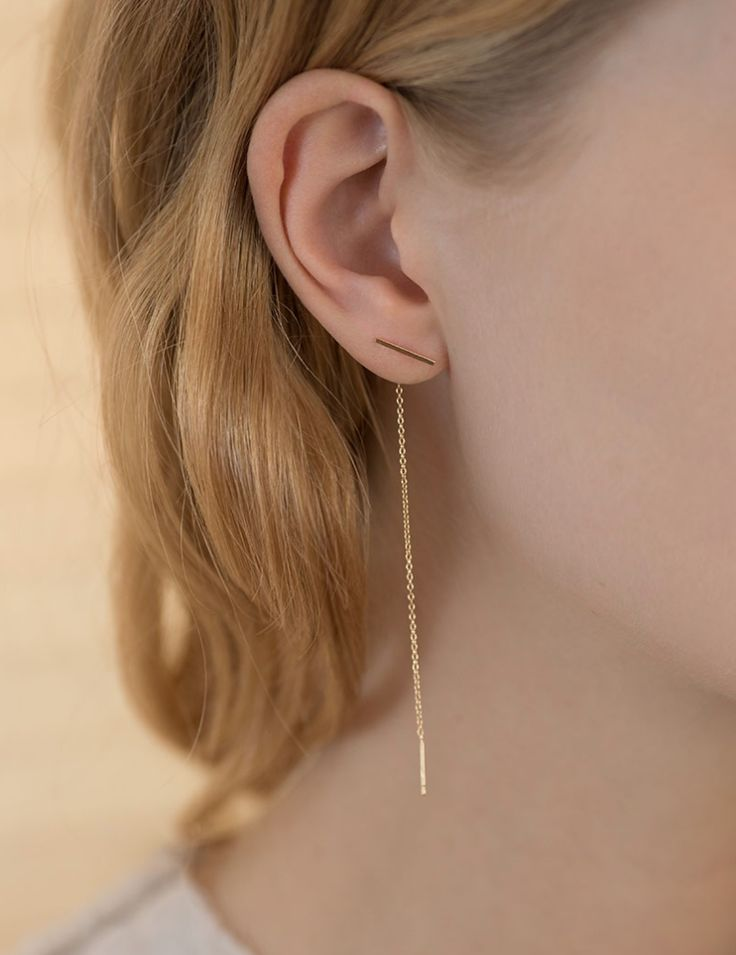 If there's a single designer that dominates my jewelry collection right now, it would be Kathleen Whitaker. The addiction began with her signature gold, staple earring - perfect in its elegant simplicity. Since then, I've added several more pieces to my repertoire. And yes, I've even added more