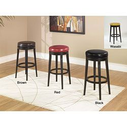 Backless Swivel Stool | Overstock.com Shopping - Great Deals on Armen Bar Stools