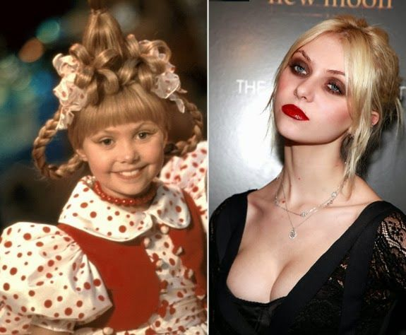 Miss Trend She: grown up gorgeous: child stars, then and now -Taylor Momsen Gossip Girl Cindy Lou WHO?!