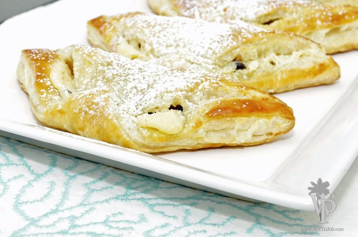 Chocolate & Cheese Danish - To Be Shared by Best Friends!  Recipe from Giada at Home  The Kitchen Prep: Better When Shared