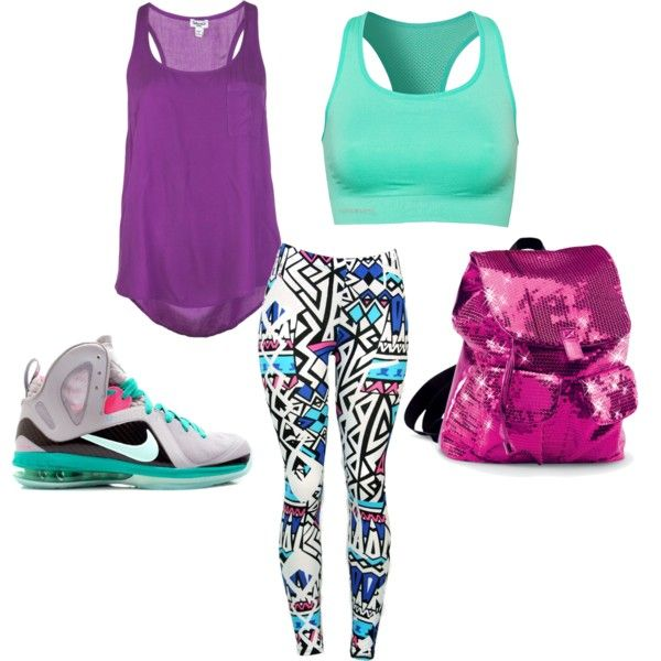 """""""crazy and colorful dance outfit."""" by alleyswag on Polyvore"""