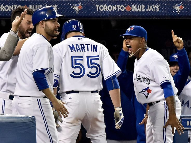Marcus Stroman threw seven innings of shutout ball in a game that was close until his final frame, and Toronto ended up taking the game 4-0