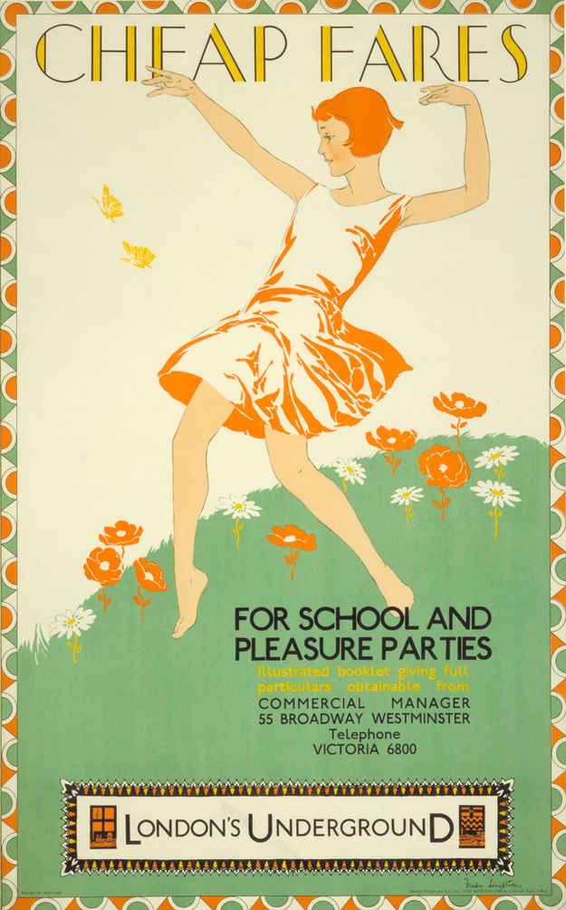 1929: 'Cheap Fares' | 20 Gorgeous Vintage Posters For The London Underground