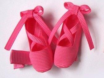 Hot Pink Ballet Clip Hot Pink Pink Ballet Slippers