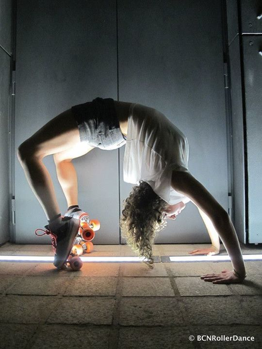 Inspired in Barcelona © Photo by BCN Roller Dance Roller Skater: Cecile Klaus
