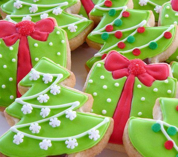 Christmas Sugar Cookies (Custom Decorated)