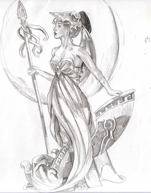 Athena #Inspiration #Women