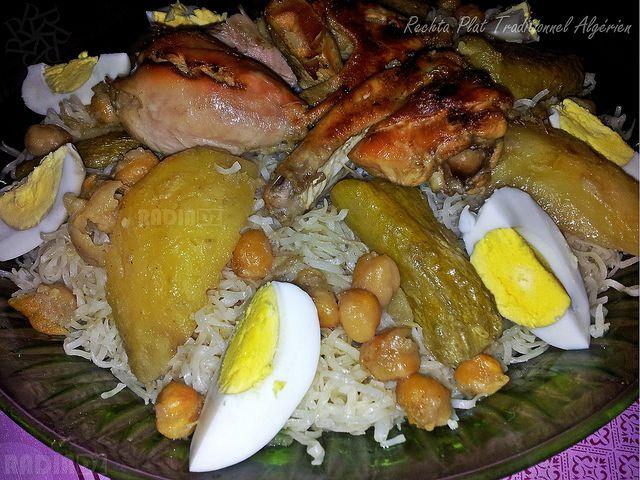 Rechta plat traditionnel alg rien algerian pasta for Algerian cuisine