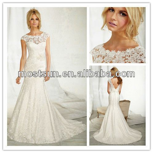 Wd478 Sexy Illusion High Neck Low Back Lace Wedding Dresses With Short Sleeves Photo, Detailed about Wd478 Sexy Illusion High Neck Low Back Lace Wedding Dresses With Short Sleeves Picture on Alibaba.com.