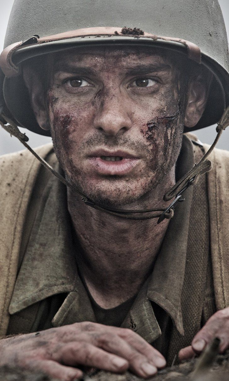 "Pin for Later: Hacksaw Ridge Trailer: Andrew Garfield Is Unarmed in the ""Hellfire of Battle"" in This True Story"