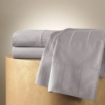 In ASH ( Silver Grey )- Jennifer Lopez 600-Thread Count Egyptian Cotton Sheets - 18 inch deep pocket
