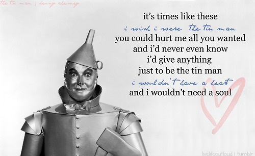 Kenny Chesney's Tin Man    Google Image Result for http://28.media.tumblr.com/tumblr_l5ytbbuci21qc43kwo1_500.jpg