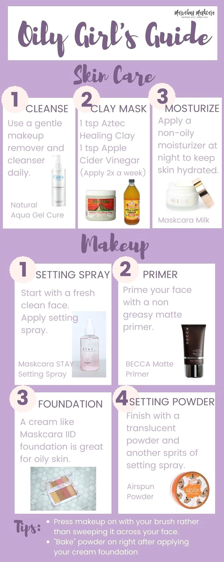 Oily Girls Guide Makeup And Skincare Tips For Women With Oily Skin Skincare Routine Oily Skin Care Routine Skin Care Oily Skin Care