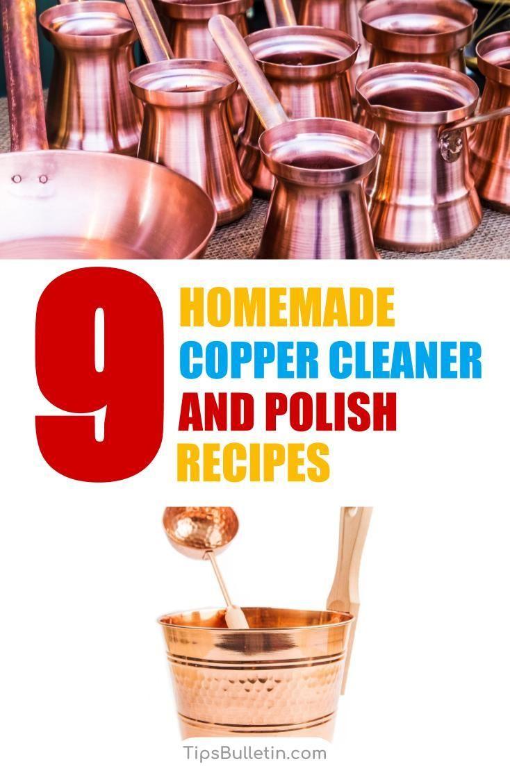 9 simple diy copper cleaner polish recipes copper