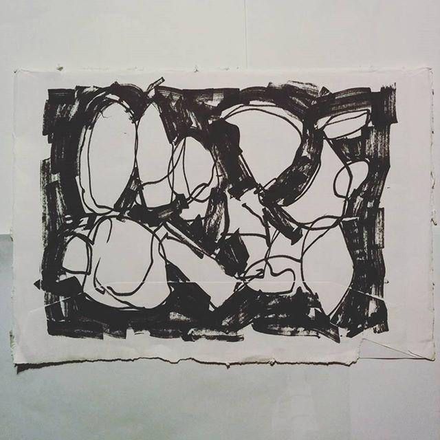 Retrospective #inktober 28 - marker pen drawing by artist David Andrews. (#abstract #marker #pen #drawing #black #markers #blackandwhite #inktober2016)