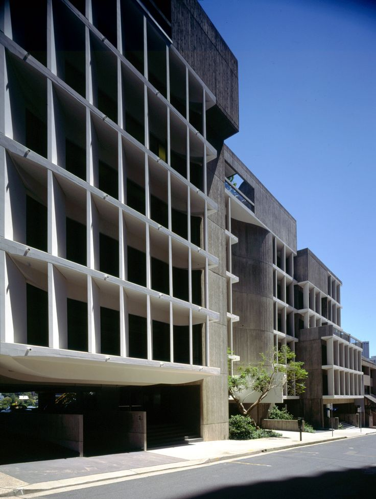 Harry Seidler & Associates: Seidler Offices & Apartments