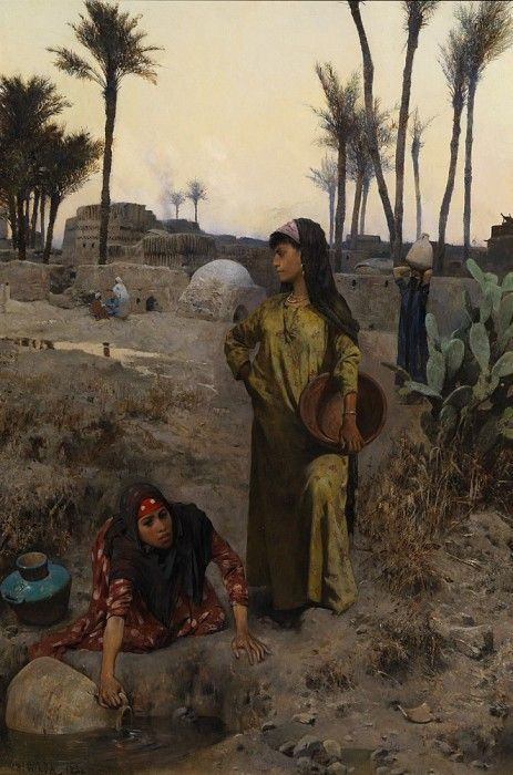 The Water carriers | Charles Wilda, 1854-1907