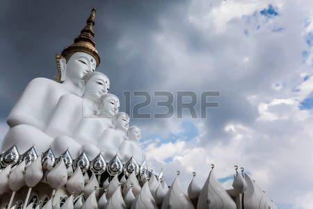 The big statue of  Buddha in thailand