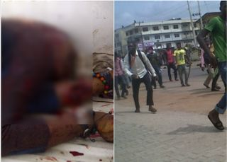 Suspected cult members have shot Mr. Stanley Mbanefo a final year student of the Department of Geography University of Uyo Akwa Ibom State. The incident was said to have taken place at the university community of Idak Okpo Uyo around 10.47pm on Monday. Punch learnt that the hoodlums about five in number invaded the community and shot the victim at a close range while he was trying to escape from a shop. A witness Chief Eno Clement who is the chairman of Idap Okpo Community Development…
