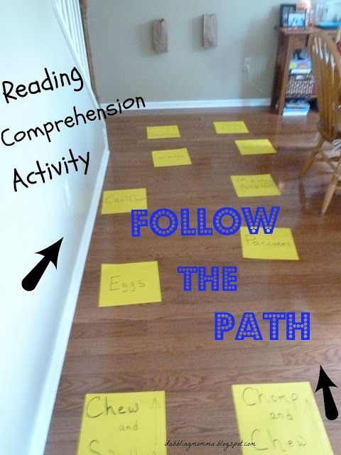 Reading Comprehension Activity