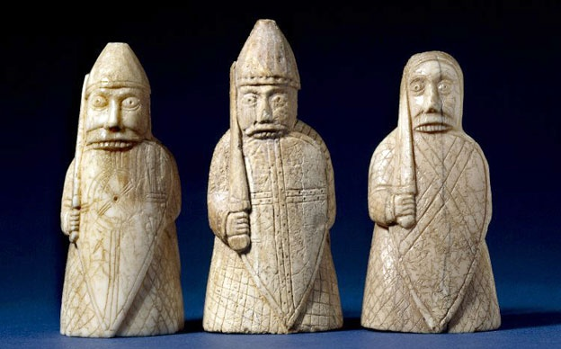 Lewis Chessmen - the berserkers - my faves! Oh, if you live in NY don't miss them at the Cloisters Museum & Gardens