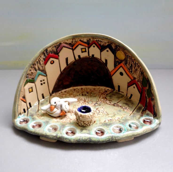 Jewish Menorah , Houses of Israel , Hanukkah Menorah , Hanukkah gift , Handmade Menorah , Judaic , Israeli Menorah , Jewish gift by ednapio on Etsy