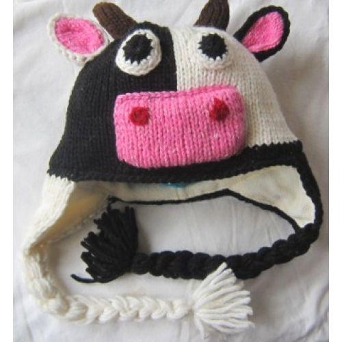 Cow Kids Hat