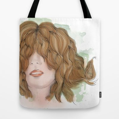 'See No Evil' Tote Bag by clickybird - Belinda Gillies - $22.00