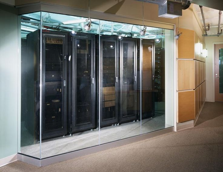 Glass Server Room Google Search Chartis Office