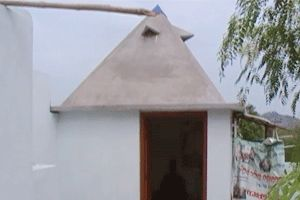 Sri Shiridi Sai Pyramid Meditation Center year of construction : 2011 size : 8ft x 8ft (roof top) | capacity : 10 persons cost incurred :  40,000 | type of structure : RCC timing : 24x7, open for public use technical support : Pyramid Jonn contact : nagaraju, mobile : +91 99858 91769 address : Mahila pranganam, Indira nagar, Miriyalaguda road, Nalgonda town http://www.pyramidseverywhere.org/pyramids-directory/telangana/nalgonda-district  #Pyramid #Pyramids
