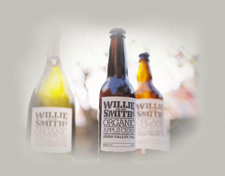 Willie Smiths Organic Apple Cider - Huon Valley, Tasmania.