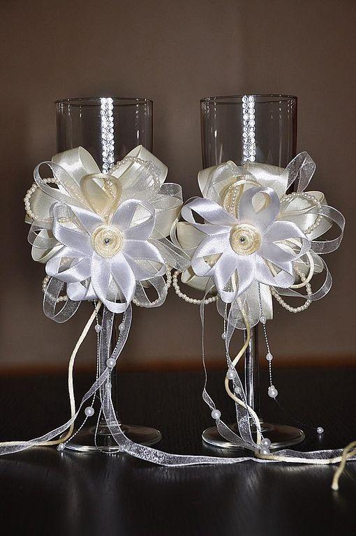 Купить Свадебные бокалы - свадебные аксессуары, свадебные бокалы, свадебные…