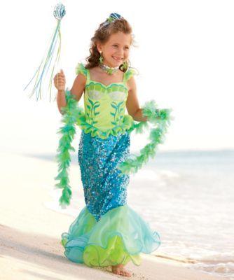 Alayna - blue fairytale mermaid girls costume