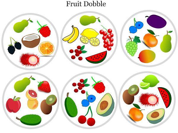 FruitDobble - Google Drev