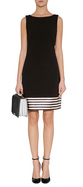 Inspiracion para alargar vestido negro