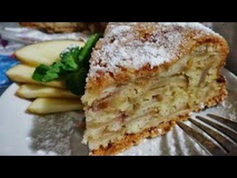 ♥яблочный пирог/очень легкий рецепт/ - YouTube