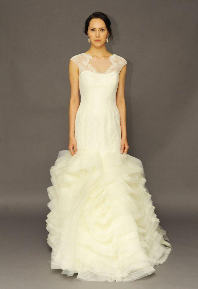 Alyne by Rita Vinieris Spring 2015 Wedding Dress Collection | Team Wedding Blog #wedding #weddingdress #teamwedding