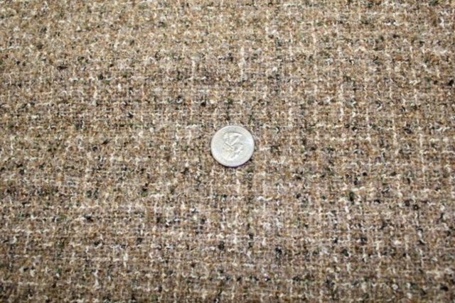 Plaid Boucle Wool Cotton Rayon Polyester Reds White Blues Jacket Fabric BTY